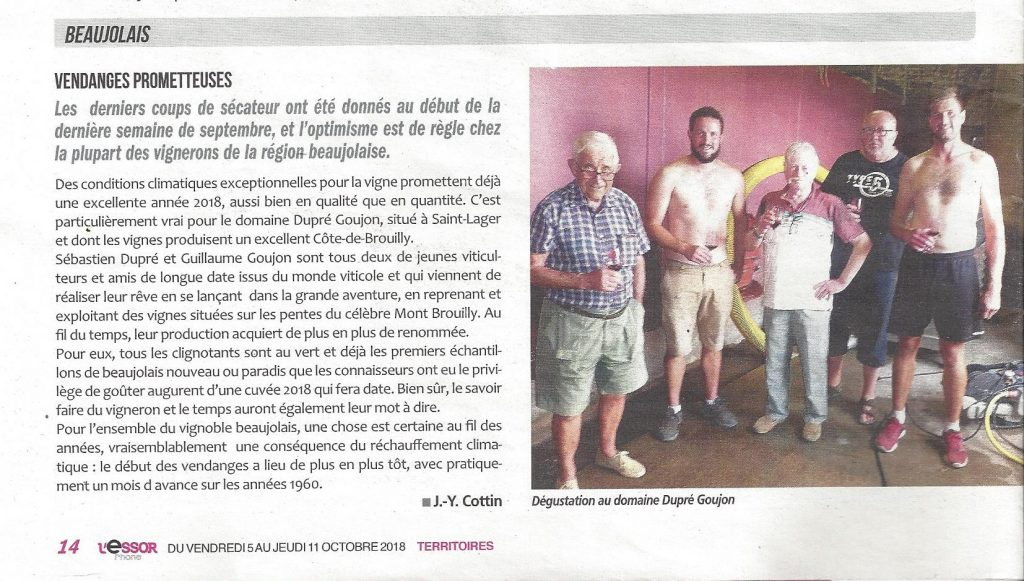 l'essort article